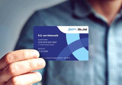 Shuttel kaart_hand